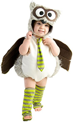 Princess Paradise Baby's Edward The Owl Deluxe Costume, As Shown, 18M/2T