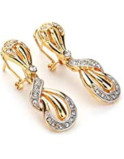 Jewelry Set Of 4 Pieces For Women, Gold Plated