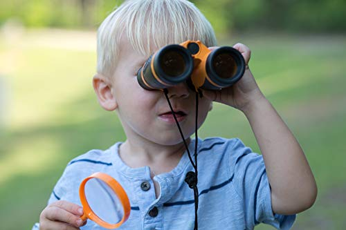 Discover Kids - Outdoor Exploration and Adventure Kit - Children's Toys, Binoculars, Flashlight, Compass, Whistle, Magnifying Glass, Backpack. Designed for Children, Great STEM Gift for Kids by Discover Kids (Image #6)