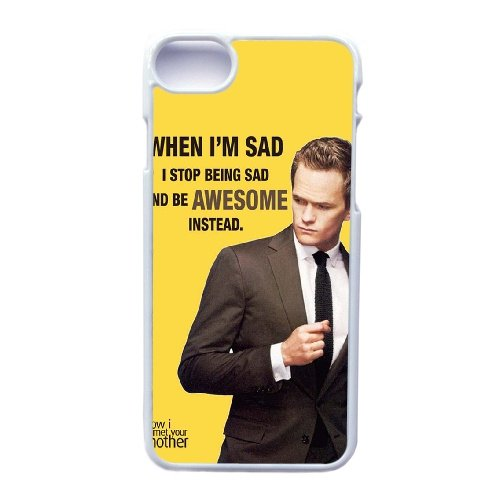 Coque,Apple Coque iphone 7 (4.7 pouce) Case Coque, Generic Quotes From How I Met Your Mother Cover Case Cover for Coque iphone 7 (4.7 pouce) blanc Hard Plastic Phone Case Cover