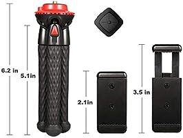 Fotopro Mini Trípode, Trípode Ligero con Bluetooth Remoto, Trípode ...