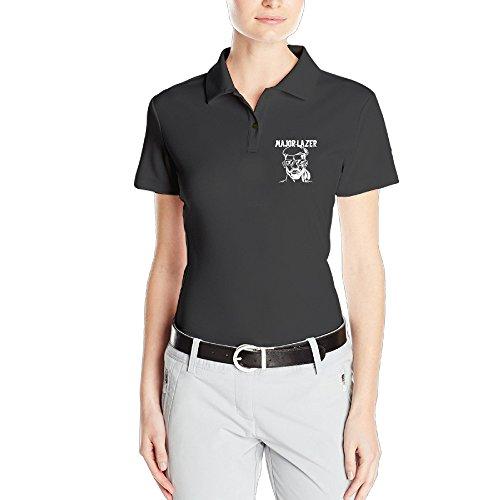 MEGGE Women's Major Lazer Comfortable Dry-Fit Golf Polo