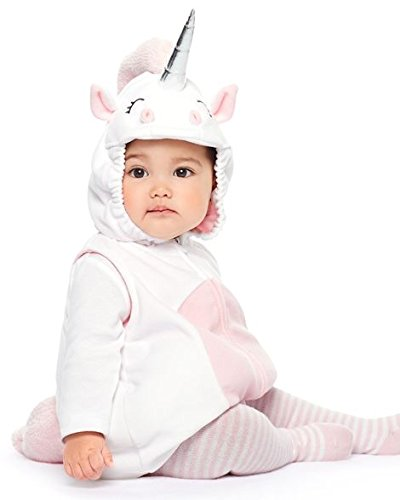Carter's Baby Girl Little Unicorn Halloween Costume (18 months, Little Unicorn (119G245))]()