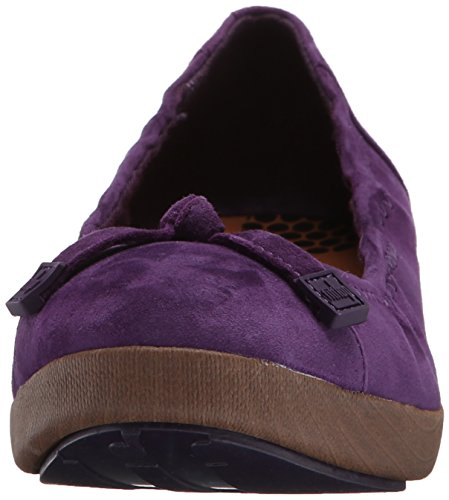 FITFLOP F-POP BALLERINA SUEDE 2015 pomp purple