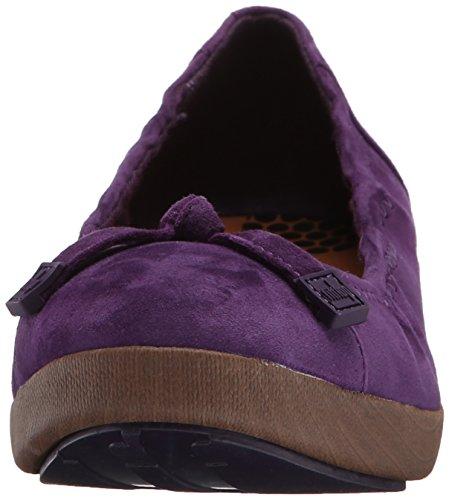 FF2™ by FitFlop™ F-Pop™ Ballerina (Suede) Pomp Purple 5.5 UK