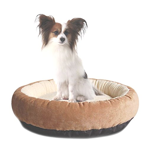Washable Dog Beds for Medium Dogs Casablanca Round Dog Bed E