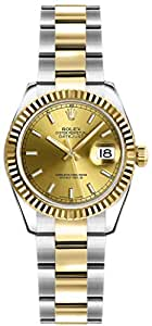 Rolex Lady-Datejust 26 179173 Champagne Dial Womens Watch