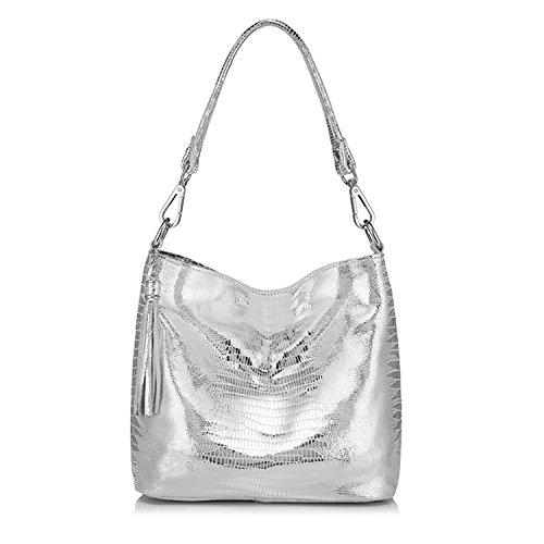 women handbags genuine leather crossbody shoulder bags hobos bag animal prints totes ()