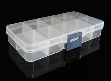 Yudu - Caja de almacenaje (10 compartimentos): Amazon.es: Hogar