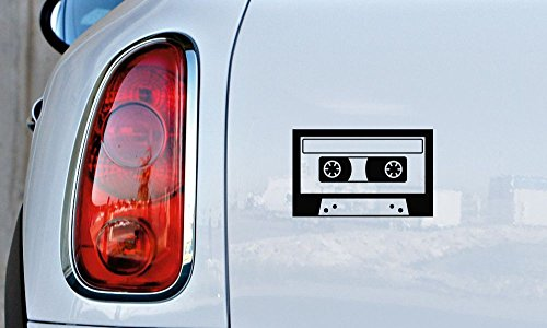 Cassette Tape Retro Car Vinyl Sticker Decal Bumper Sticker for Auto Cars Trucks Windshield Custom Walls Windows Ipad Macbook Laptop and More - Pandora Cp