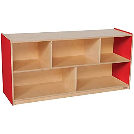 48 In Strawberry Red Single Storage