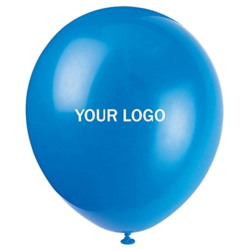 Custom Balloons Photo Print Party Balloons 200 Pack Birthday Wedding Shower Balloons -