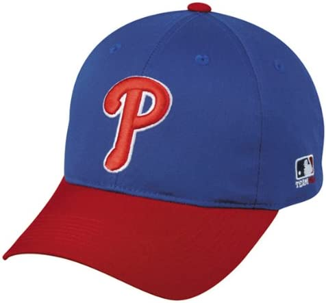 B005Y4SIME Philadelphia Phillies (Royal Blue/Red) Adult Adjustable Hat MLB Officially Licensed Major League Baseball Replica Ball Cap 41Agi2B2FfsL