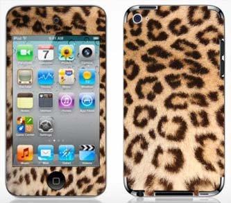 - Skinhub Leopard Print Pattern Skin for Apple iPod Touch 4G 4th Generation