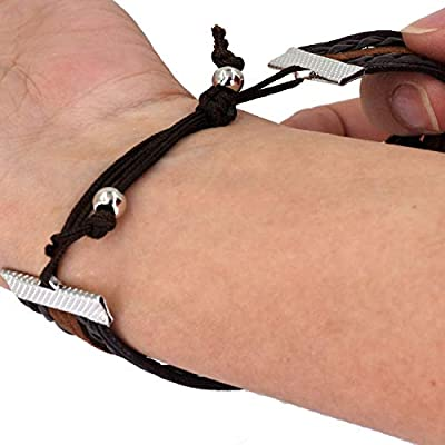 Horse Love Forever & Ever Infinity Bracelet - Leather Wrap
