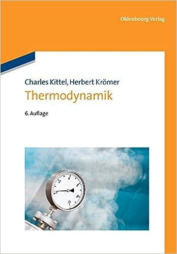Thermodynamik: Amazon.de: Charles Kittel, Herbert Krömer: Bücher
