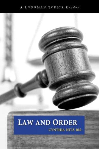 Law and Order (Longman Topics Readers)