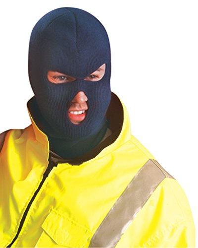 Stay Warm - Super heavyweight Fleece Face Mask - Navy - Made in the USA - EACH