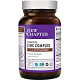 New Chapter Zinc Supplement - Food Complex for Immune Support + Skin Health + Non-GMO Ingredients, Unflavored, 30 Count