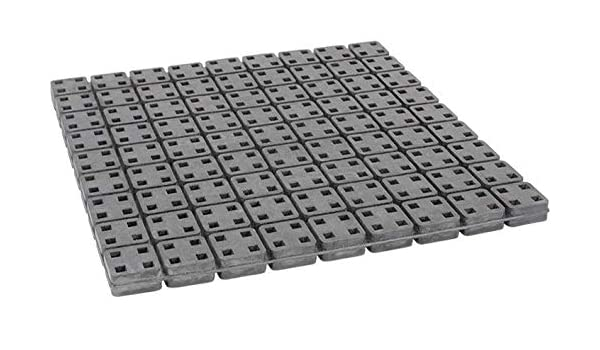 6 X 6 X 1//2 Vibration Isolation Neoprene Pads Pack of 4 Pads