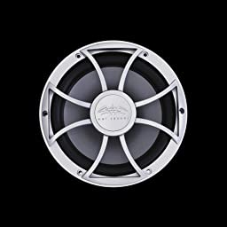 Wet Sounds 10 Inch Free Air Marine Subwoofer Silver