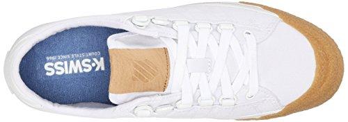 K-swiss Womens Irvine T Sneaker Atletico Bianco / Gomma Scura