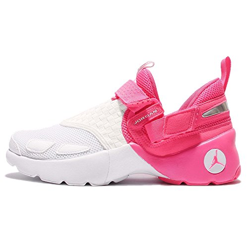 JORDAN KIDS JORDAN TRUNNER LX (GG) SHOES HYPER PINK WHITE SIZE 7 by Jordan