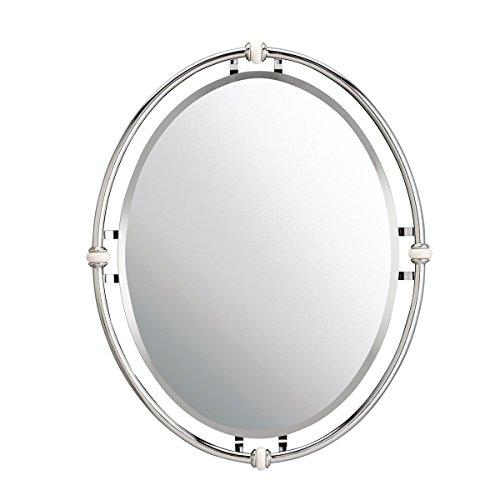 Chrome New York Glass - Kichler 41067CH Mirror