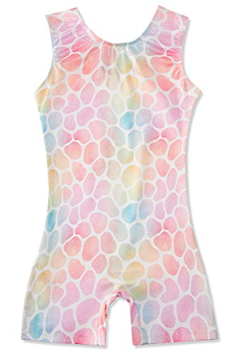 Gymnastics Leotards For Girls 3T 4T Pink Stone Biketard Toddler Dance Unitards Sleeveless Little Kids Athletic Ballet Bodysuit 90S Gymnast Tumbling Outfits With Shorts Beach Swimsuit One Piece
