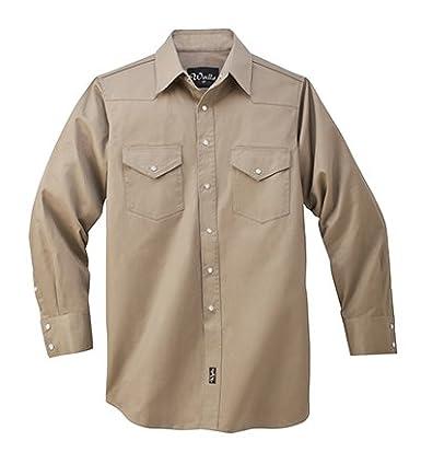 Paredes - 56116 Templo Heavyweight Soldadura Camisa Verde caqui: Amazon.es: Ropa y accesorios