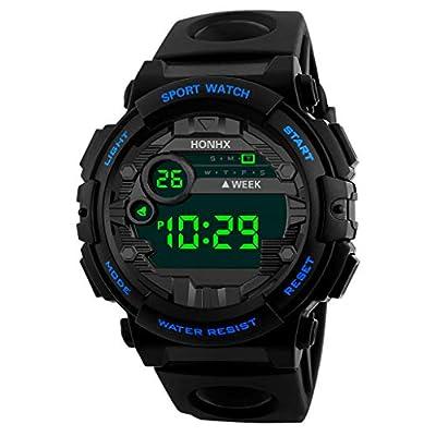 Men's Digital Sport Watch Electronic LED Fashion Waterproof Outdoor Casual Wrist Watch