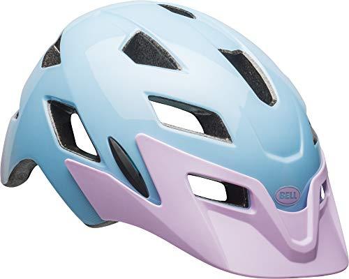 Bell Sidetrack Youth Bike Helmet - Flutter Gloss Lilac - UY (50-57 cm)