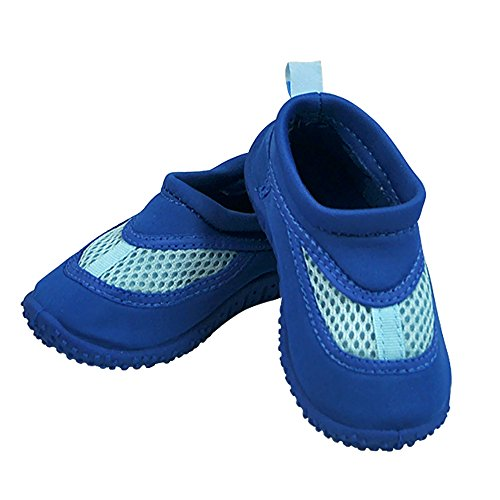 Infant Toddler Unisex Water Sand and Swim Shoes by Iplay - Royal - 9 Toddler by i play.