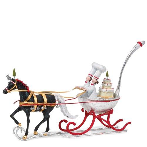 (Department 56 Krinkles Spoon One Horse Open Sleigh Figurine)