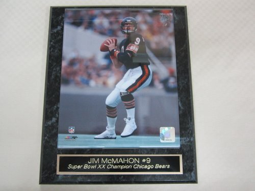 Jim Mcmahon Chicago Bears - Jim McMahon Chicago Bears Collector Plaque w/8x10 Photo