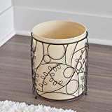 iDesign Twigz Metal Wire and Plastic Wastebasket