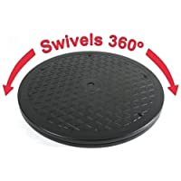 Heavy Duty Swivel for Flat Panel Monitors and Big Screen TV's - 360 degrees