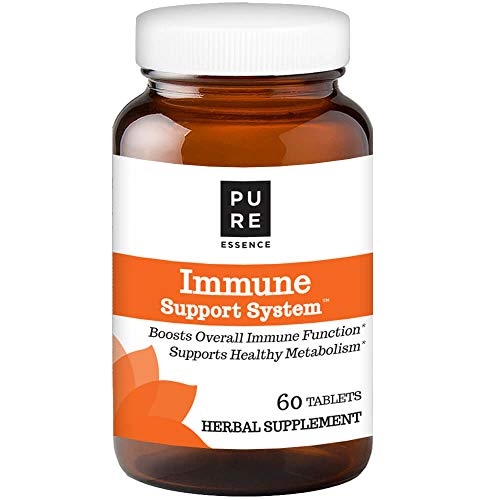 Pure Essence Labs Immune Cellular Support System - With Maitake - Colostrum - Fucoidan And More - 60 Tablets