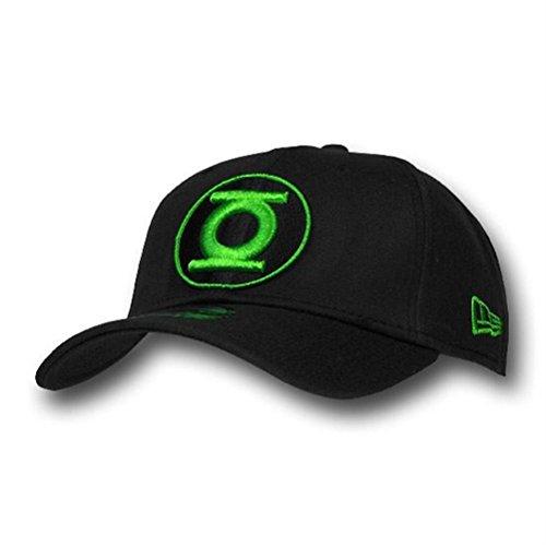 Green Lantern Black/Green Round Symbol 39Thirty Cap- Me - Green Lantern Cap