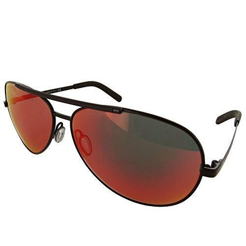 D&G Dolce & Gabbana Mens 0DG2141 Aviator Sunglasses, Matte Black, 61 - Aviator Dolce Gabbana