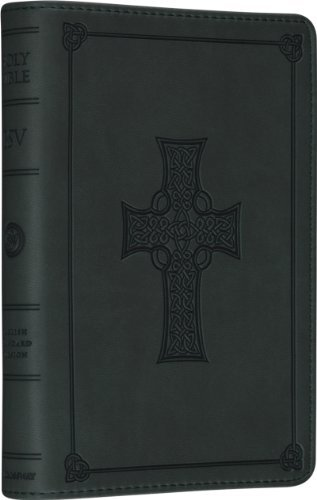 By ESV Bibles by Crossway ESV Compact Bible (TruTone??, Olive, Celtic Cross Design) (Lea) [Leather Bound] (Bible Esv Cross Celtic)