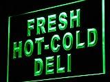 ADV Pro Fresh Hot Cold Deli Food Cafe LED Neon Sign