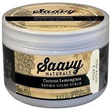 Coconut Lemongrass Brown Sugar Scrub. by Saavy Naturals