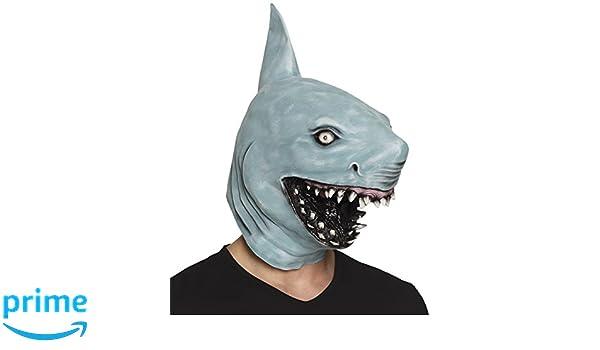 Boland 00159 Máscara de látex, Tiburón, One size: Amazon.es: Juguetes y juegos