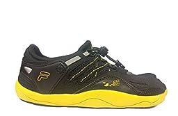 Fila Kids\' Skele-Toes Bay Rnr 3 Water Shoe, Gray/Black/Red, 1 M US Little Kid