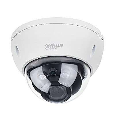 Dahua IPC-HDBW4631R-ZS 6MP Varifocal PoE IP Security Camera 2.7mm~13.5mm Lens Motorized 5X Optical Zoom Outdoor Indoor Video Surveillance Camera Dome with 50M IR Night Vision, ONVIF,H.265,IK10,IP67 by dahua