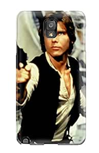 New Style Tpu Note 3 Protective Case Cover/ Galaxy Case - Han Solo People Movie