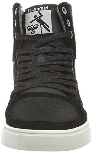 Slimmer Noir High Adulte Mixte Stadil Mono Hummel Sneakers Hautes black Oiled Rw6fcq