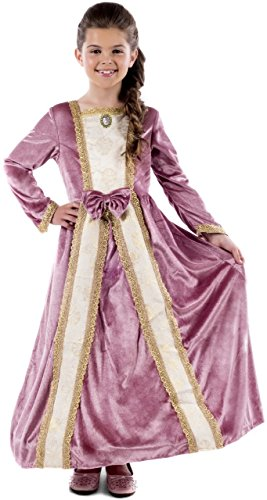Girls Deluxe Pink Marie Antoinette Historical Princess Queen