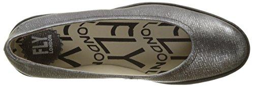 Pumps Londra Damen Pump Pumps Silber (antracite Argento / Nero)